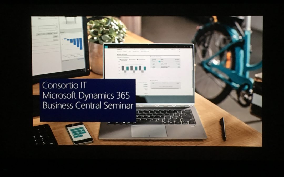 Consortio IT Inviterer til Microsoft Dynamics NAV/Business Central seminar